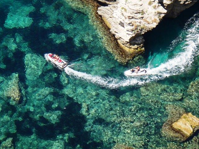 Jet ski rental Pirate Adventure Corsica