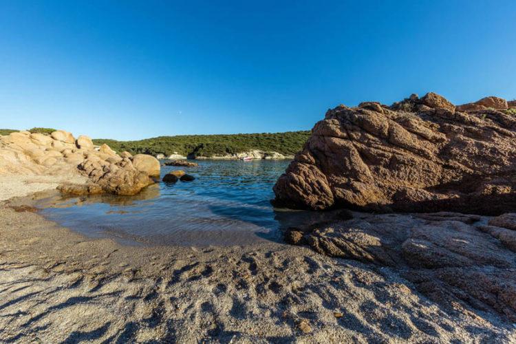 Plage, Paragan, sable, Bonifacio, Corse