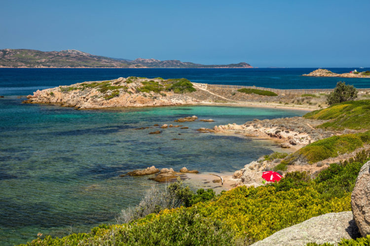 Plage, Sant'Amanza, sauvages, Bonifacio, Corse