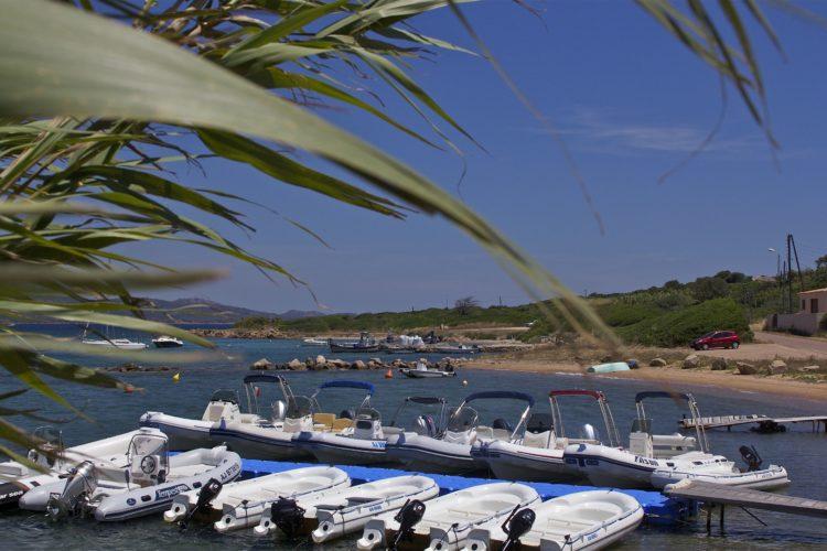 Plage, Sant'Amanza, location, Bonifacio, Corse