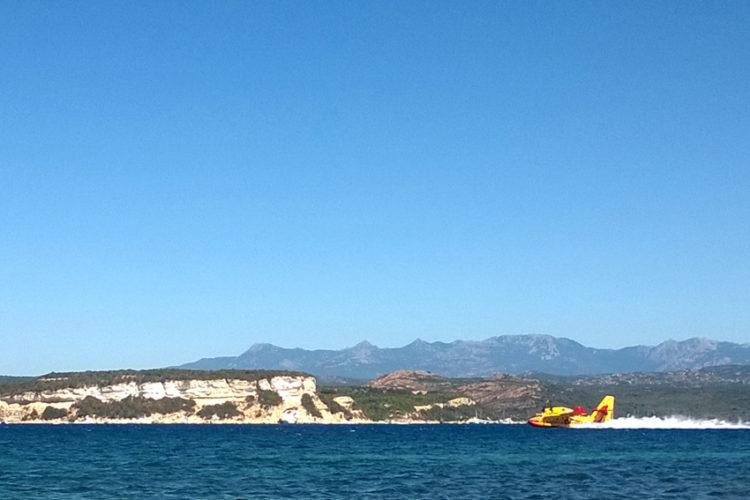Plage, Sant'Amanza, golf, Bonifacio, Corse