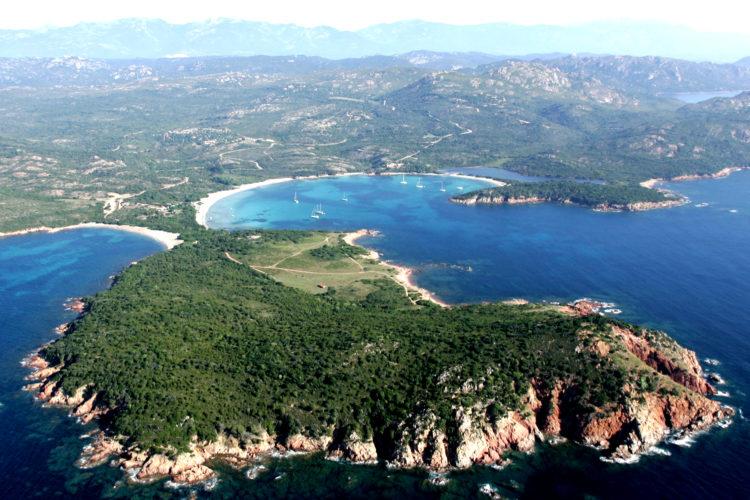 Plage, Rundinara, nature, Bonifacio Corse