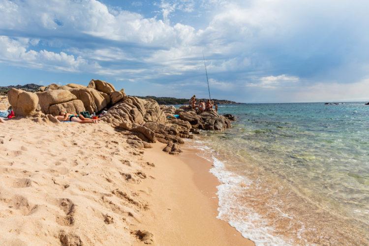 Plage, Tunara, sable, Bonifacio, Corse