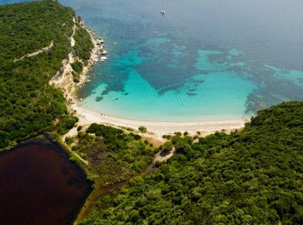 Plage, Canetu, nature, Bonifacio, Corse