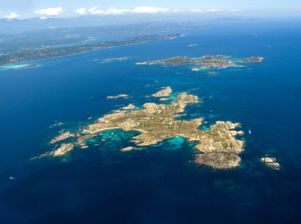 The Archipelago of the Lavezzi islands