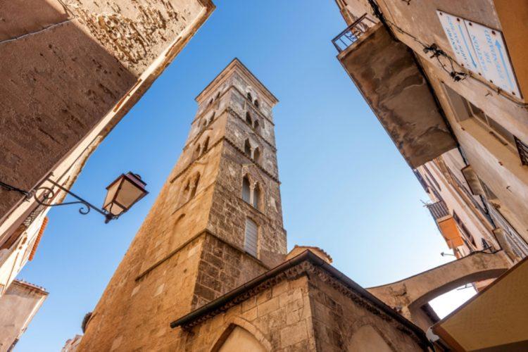 Eglise, bonifacio, paraoisse, saintemazriemajeur,Corsica